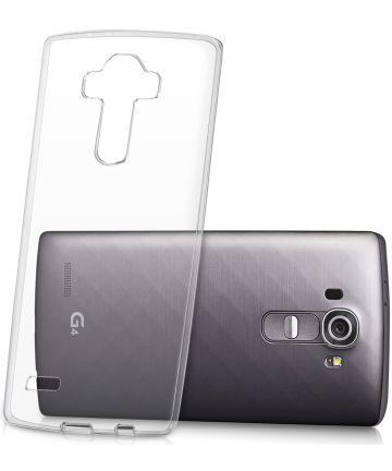 LG G4 Hoesje Dun TPU Transparant