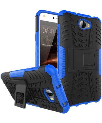 Hybride Huawei Y5 II Back Cover Blauw