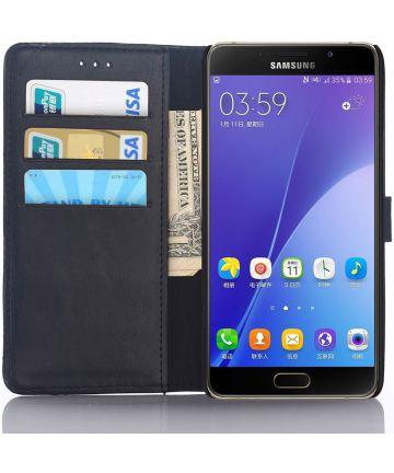 Samsung Galaxy A5 (2016) Portemonnee Hoesje Zwart