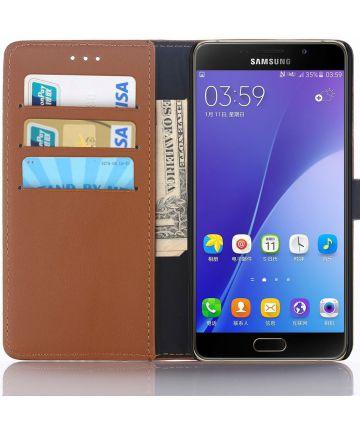 Samsung Galaxy A5 (2016) Portemonnee Hoesje Bruin