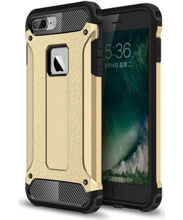 Hybride Apple iPhone 7 Plus / 8 Plus Hoesje Goud