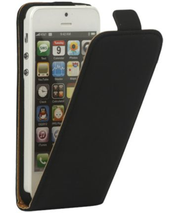 Verticale Apple IPhone 5(S)/SE Flip Hoesje