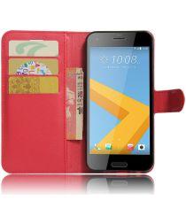 HTC One A9s Portemonnee Hoesje Rood