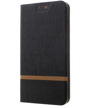 Huawei Mate 9 Portemonnee Hoesje Zwart
