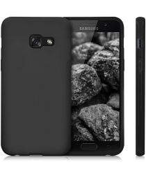 Samsung Galaxy A3 (2017) Frosted TPU Hoesje Zwart