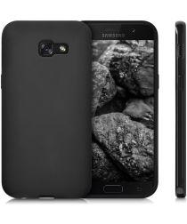 Samsung Galaxy A5 (2017) Frosted TPU Hoesje Zwart