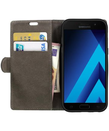 Samsung Galaxy A5 (2017) Portemonnee Hoesje met Standaard Zwart