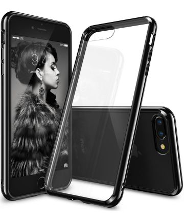 Ringke Fusion Hoesje Apple iPhone 7 Plus / 8 Plus Ink Black