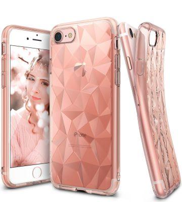 Ringke Air Prism Apple iPhone 7 / 8 Hoesje Roze Goud