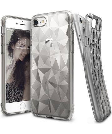 Ringke Air Prism Apple iPhone 7 / 8 Hoesje Transparant Zwart Hoesjes