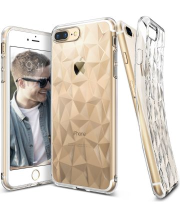 Ringke Air Prism Apple iPhone 7 Plus / 8 Plus Hoesje Transparant