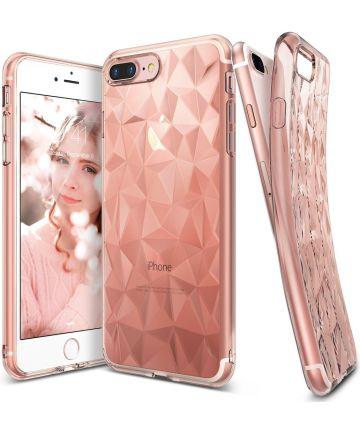 Ringke Air Prism Apple iPhone 7 Plus / 8 Plus Hoesje Roze Goud