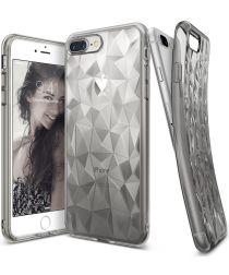 Ringke Air Prism Apple iPhone 7 Plus / 8 Plus Hoesje Transparant Zwart