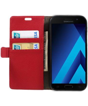 Samsung Galaxy A5 (2017) Portemonnee Hoesje Rood