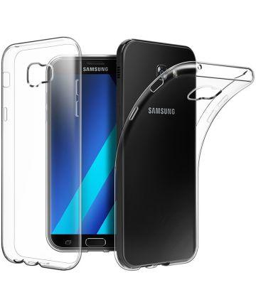 Samsung Galaxy A3 (2017) TPU Gel Hoesje Transparant Hoesjes