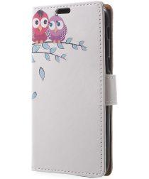 Samsung Galaxy A5 (2017) Portemonnee Print Love Owl