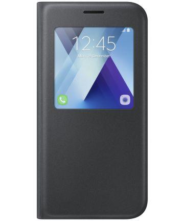 Samsung Galaxy A5 (2017) S-View Cover Zwart Origineel