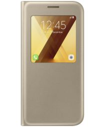 Samsung Galaxy A5 (2017) S-View Cover Goud Origineel