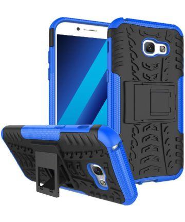 Hybride Samsung Galaxy A3 (2017) Back Cover Blauw