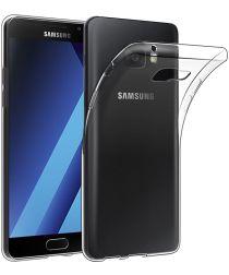 Samsung Galaxy A3 (2017) Hoesje Dun TPU Transparant