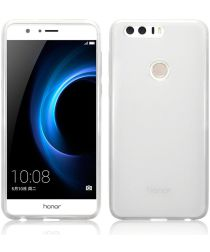 Honor 8 Ultradun TPU Hoesje Transparant