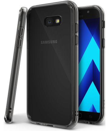 Ringke Fusion Samsung Galaxy A5 2017 Hoesje Doorzichtig Smoke Black