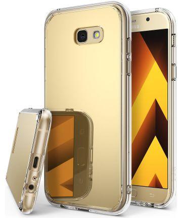 Ringke Fusion Mirror Samsung Galaxy A5 2017 spiegel hoesje Gold