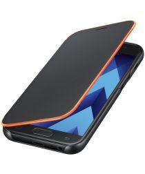 Samsung Galaxy A3 (2017) Neon Flip Cover Zwart