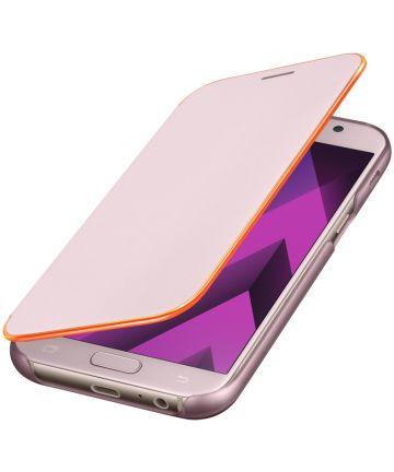 Samsung Galaxy A5 (2017) Neon Flip Cover Roze