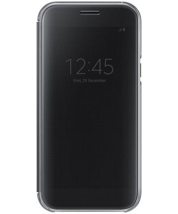 Samsung Galaxy A5 (2017) Clear View Cover Zwart