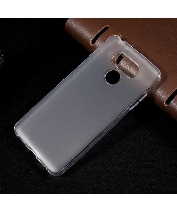LG G6 Transparant Gel Cover with Non-slip