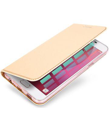 Dux Ducis Samsung Galaxy A5 (2017) Bookcase Hoesje Goud