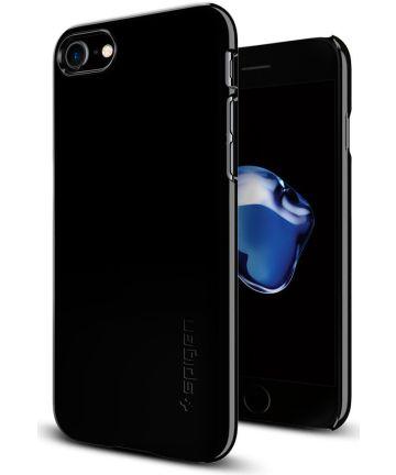 Spigen Thin Fit Case Apple iPhone 7 / 8 Jet Black Hoesjes