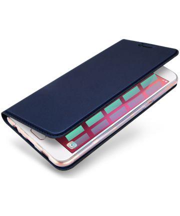 Dux Ducis Samsung Galaxy A3 (2017) Bookcase Hoesje Blauw Hoesjes