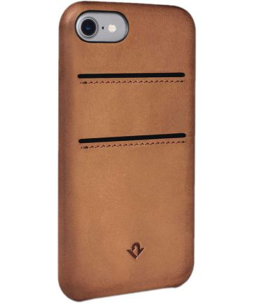 Twelve South RelaxedLeather iPhone 7 / 8 Portemonnee Hoesje Bruin