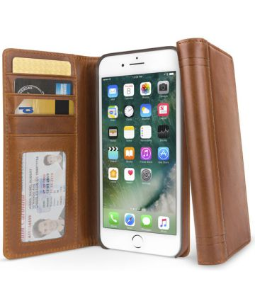 Twelve South Journal voor iPhone 6(S) en iPhone 7 / 8 Bruin