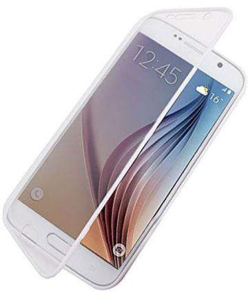 Samsung Galaxy S6 Transparante Flip Case
