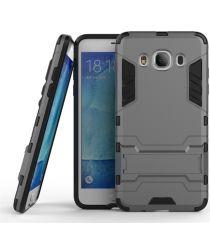 Samsung Galaxy J5 (2016) Hybride Kickstand Hoesje Grijs
