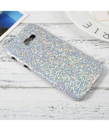 Samsung Galaxy A5 2017 Hoesje Bling Textuur Back Cover Hoesjes