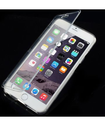 Apple iPhone 6S Plus Touchable Bookcase Transparant