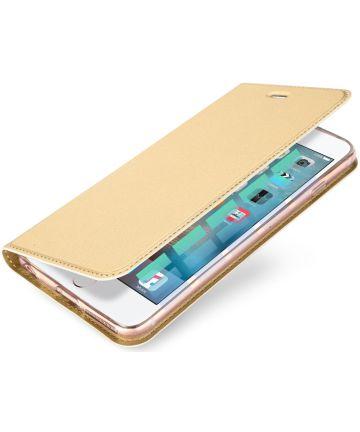 Dux Ducis Apple iPhone SE Premium Bookcase Hoesje Goud