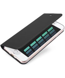 Dux Ducis Apple iPhone 7 / 8 Bookcase Hoesje Grijs
