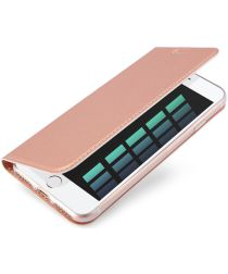 Dux Ducis Apple iPhone 7 / 8 Bookcase Hoesje Roze