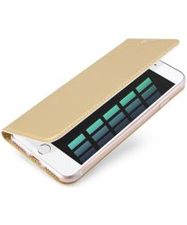 Dux Ducis Apple iPhone 7 / 8 Bookcase Hoesje Goud