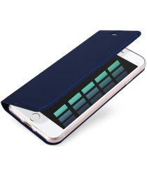 Dux Ducis Apple iPhone 7 / 8 Bookcase Hoesje Blauw