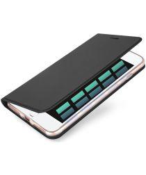 Dux Ducis iPhone 7 Plus / 8 Plus Bookcase Hoesje Grijs