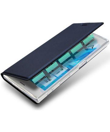 Dux Ducis Sony Xperia XZ / XZs Bookcase Hoesje Blauw