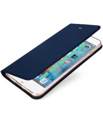Dux Ducis Apple iPhone 6(S) Bookcase Hoesje Blauw