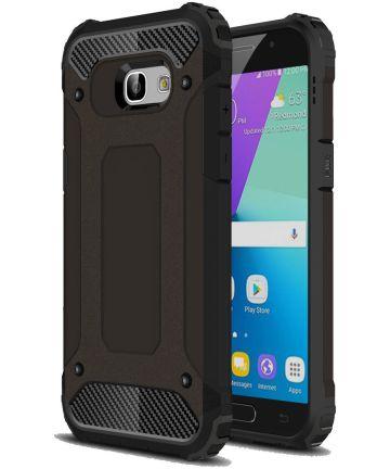 Samsung Galaxy A5 (2017) Hybride Beschermhoesje Zwart