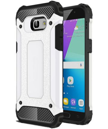 Samsung Galaxy A5 (2017) Hybride Beschermhoesje Wit